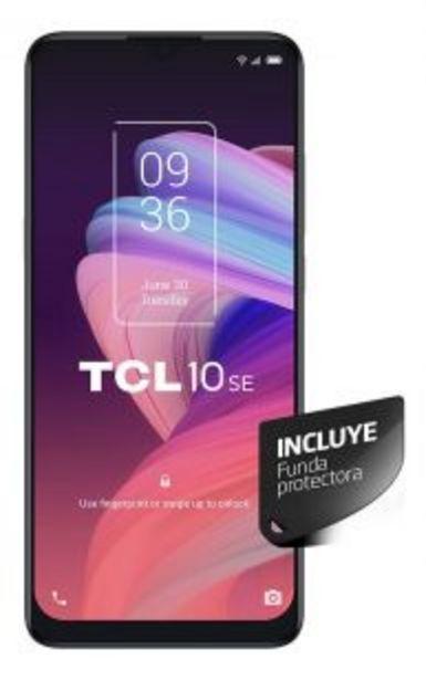 """Oferta de Celular 6.52"""" 10SE T766J 128GB 4GB RAM TCL por $37949"""