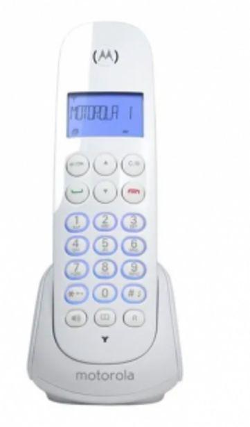 Oferta de Telefono Inalambrico Motorola Identificador Blanco por $4929