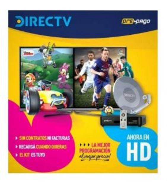 Oferta de Kit Prepago Directv por $2042