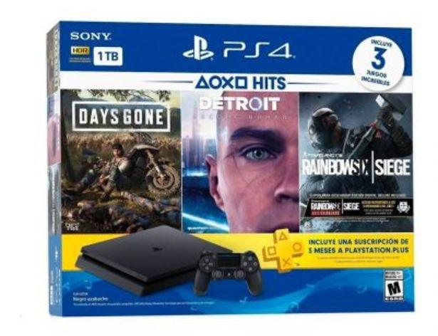 Oferta de Play 4 1 Joy + 3 Juegos Sony por $85337
