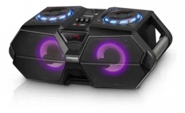Oferta de Sistema De Audio Compacto Crown Mustang 12500w por $17369