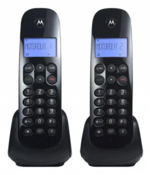Oferta de Telefono Inalambrico Motorola Base Doble Altavoz Duplex por $10859