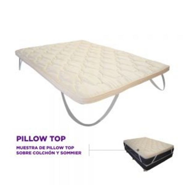Oferta de Pillow Top Desmontable Zlow Queen (160x200) por $18199