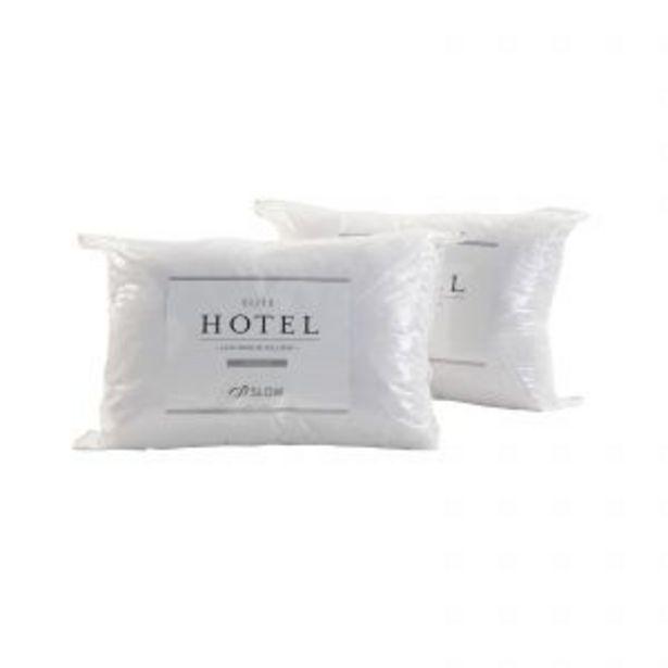 Oferta de Promo 2x1 Almohadas (90x50) Zlow Elite Hotel Feather King por $8199