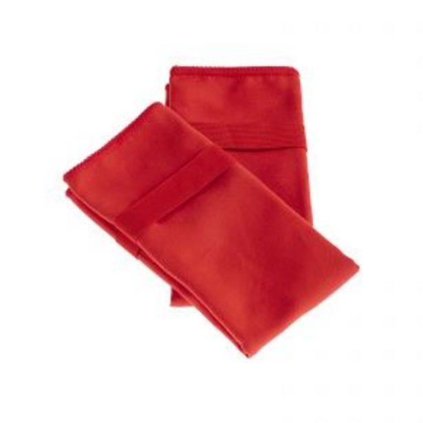 Oferta de Pack Toallas de Microfibra Deportiva (35x50) Rojo por $999