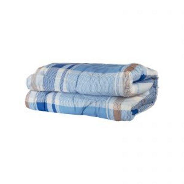 Oferta de Edredon 2 Plazas Microfibra Puntos Azul por $4699