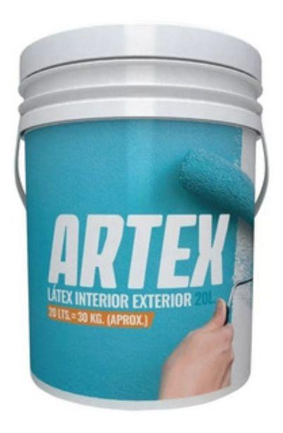 Oferta de Pintura  Exterior Interior Artex Polacrin 20l Pintumm por $3699