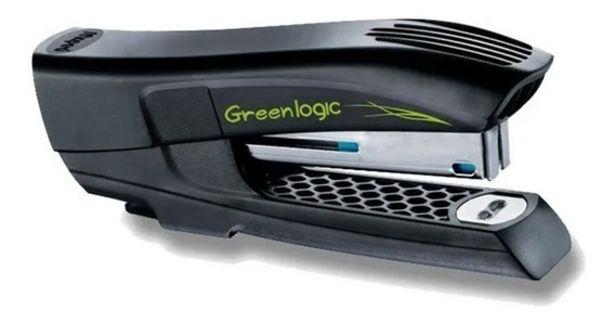 Oferta de Abrochadora Greenlogic Maped Half Strip Broches 24/6 26/4 Mm por $608