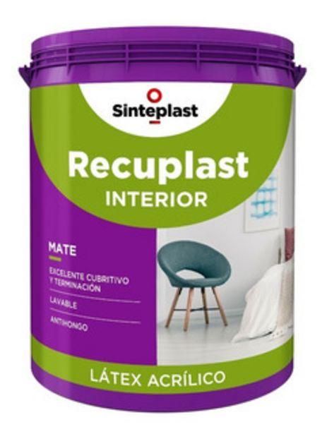 Oferta de Recuplast Interior Pintura Latex Premium 20l Sinteplast M M por $11820