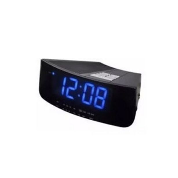 Oferta de Radio Reloj Despertador Daewoo Di2618 Alarma Led Pintumm por $5474