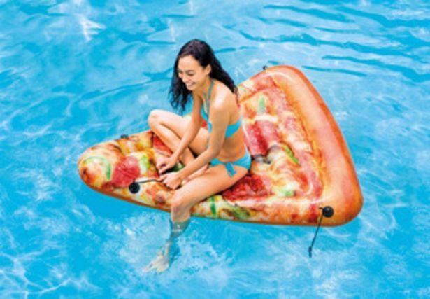 Oferta de Colchoneta Flotador Inflable Pileta Pizza Intex 23816/2 Mm por $9508