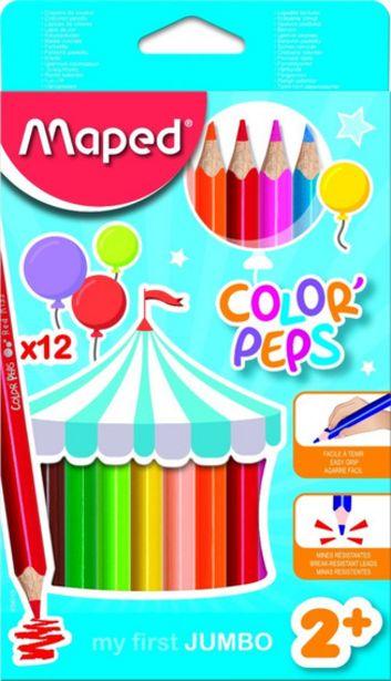 Oferta de Lapices De Colores Jumbo X 12 Maped - Mm por $773