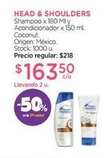 Oferta de Shampoo Head & Shoulders por