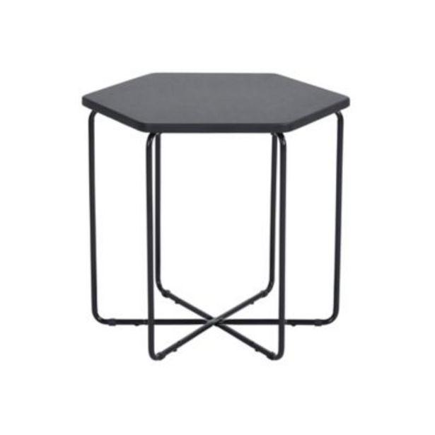 Oferta de Mesa de comedor Colmena negra - Just Home Collection por $3299