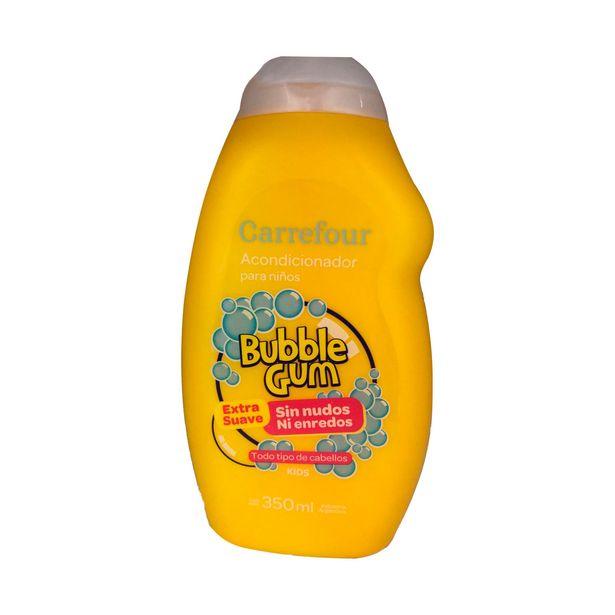 Oferta de Acondicionador Carrefour kids bubble Gum hipoalergénico 350 cc. por $144,18