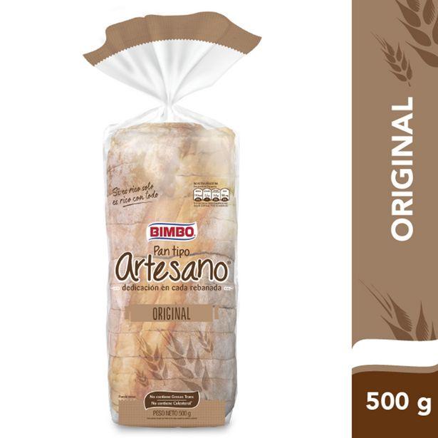 Oferta de Pan Bimbo Artesano 500 g. por $300