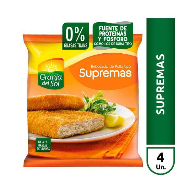 Oferta de Supremas de pollo Granja Del Sol 4 u. por $360