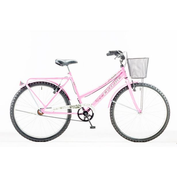 "Oferta de Bicicleta Futura rod 26"" Country acero rosa por $29990"