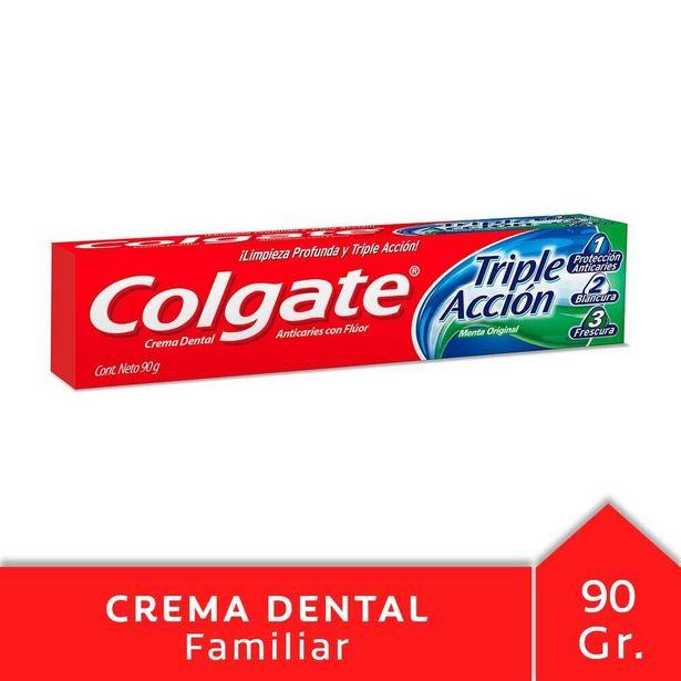 Oferta de Pasta dental triple acción Colgate 90 g. por $127