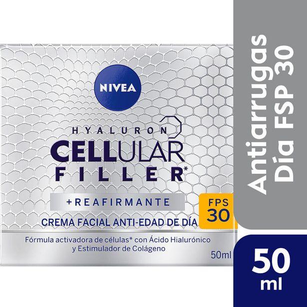 Oferta de Crema facial Nivea anti edad Hyaluron celular dia 50 cc. por $1082,9