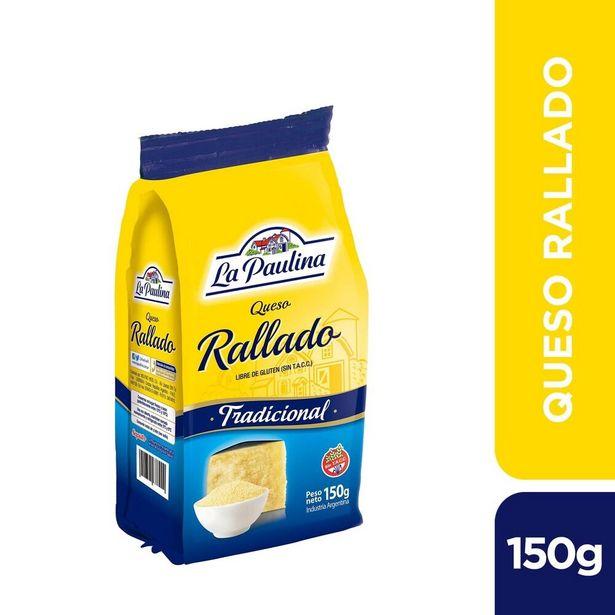 Oferta de Queso rallado La Paulina tradicional 150 g. por $214,35
