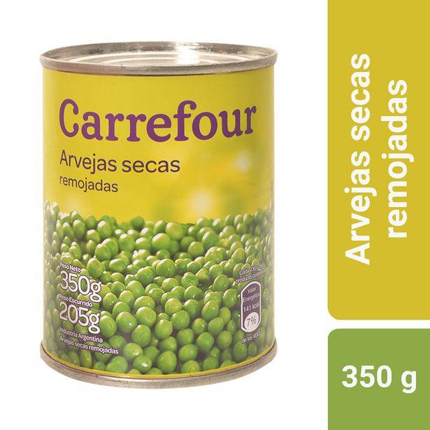 Oferta de Arvejas secas remojadas Carrefour 350 g. por $39,13