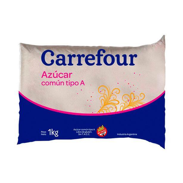 Oferta de Azúcar común Carrefour tipo A bolsa 1 kg. por $62,79