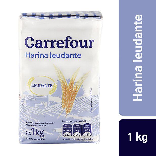 Oferta de Harina leudante Carrefour 1 kg. por $68,25