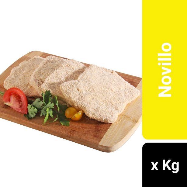 Oferta de Milanesa de nalga rebozada congelada x kg. por $494,4