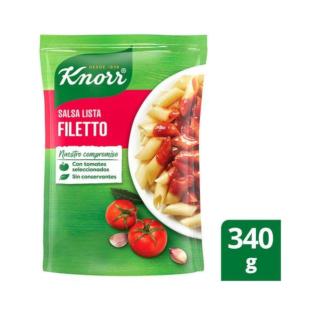 Oferta de Salsa lista filetto Knorr doy pack 340 g. por $87,6