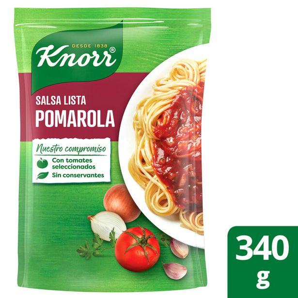 Oferta de Salsa lista pomarola Knorr 340 g por $74,85