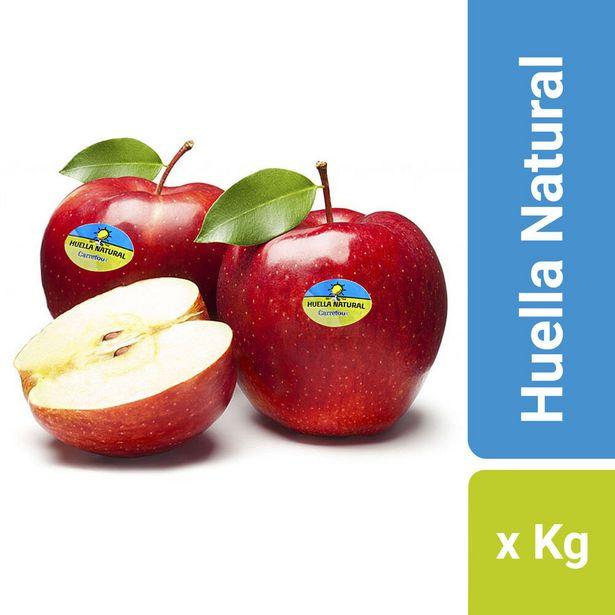 Oferta de Manzana roja Huella Natural x kg. por $180