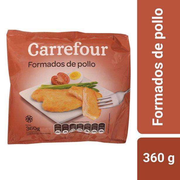 Oferta de Formados de pollo Carrefour 360 g. por $199,29