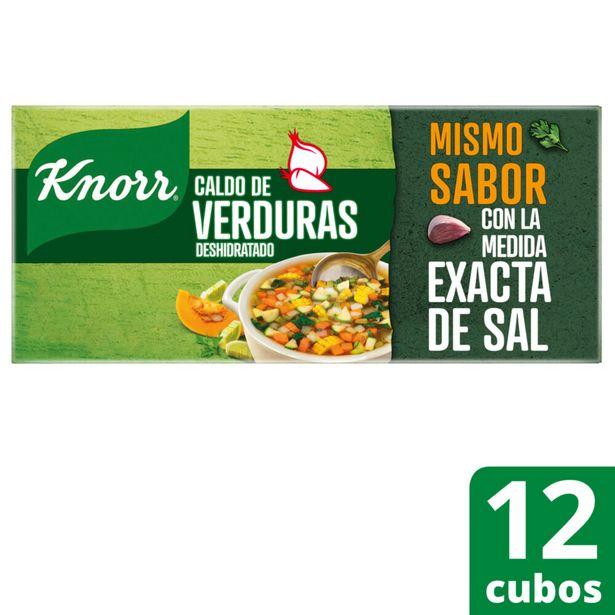 Oferta de Caldo de verduras Knorr en cubos 12 u. por $108,73