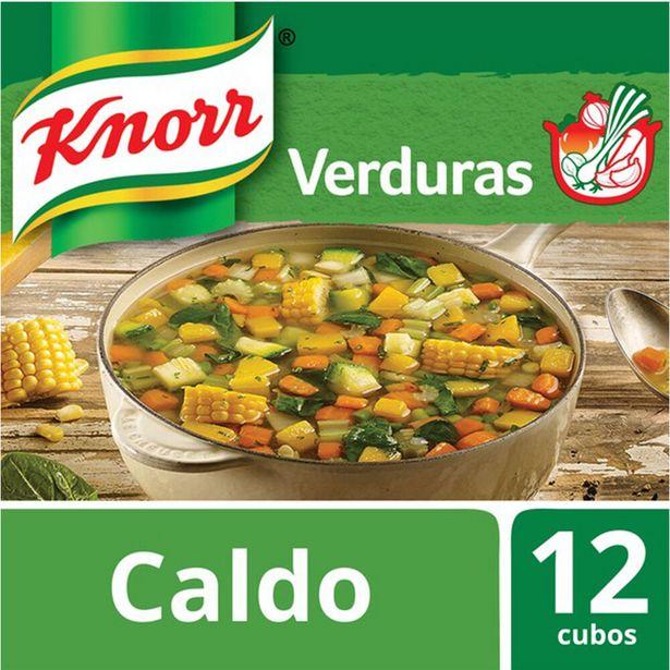 Oferta de Caldo de verduras Knorr en cubos 12 u. por $114,17