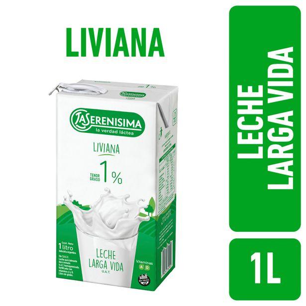 Oferta de Leche descremada 1 UAT liviana La Serenísima 1 l. por $121,65