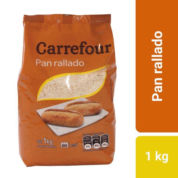Oferta de Pan rallado Carrefour 1 kg. por $118,8
