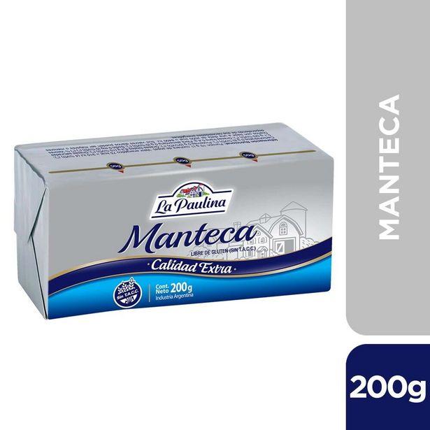 Oferta de Manteca La Paulina 200 g. por $135,6