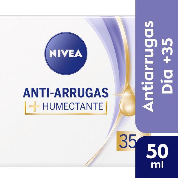 Oferta de Crema facial Nivea anti edad 35 50 cc. por $517,4