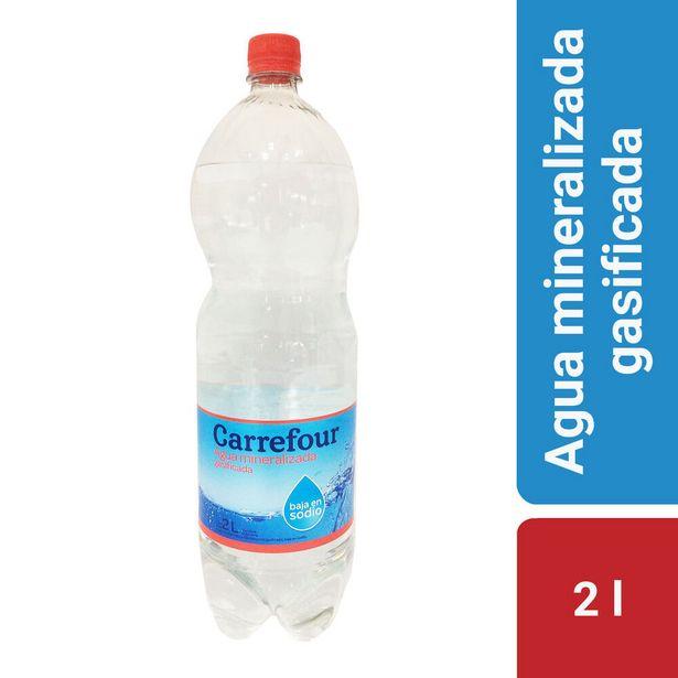 Oferta de Agua mineralizada con gas Carrefour 2 l. por $45,1