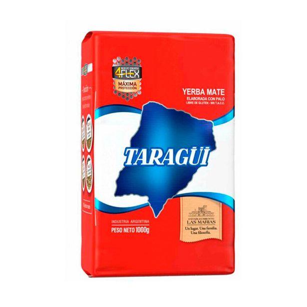 Oferta de Yerba mate Taragüi con palo origen controlado 4flex 1 kg. por $463,39