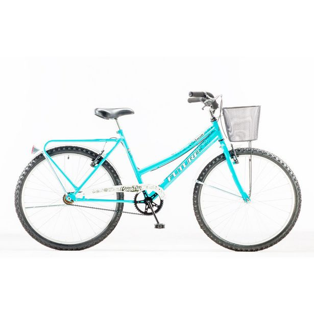 "Oferta de Bicicleta Futura rod 26"" Country acero celeste por $29990"