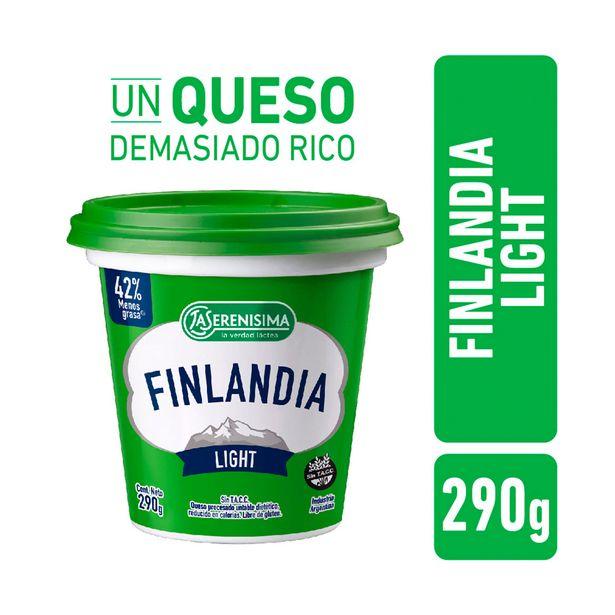 Oferta de Queso fundido Finlandia light pote 290 g. por $296,1