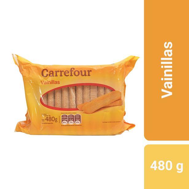 Oferta de Galletitas vainillas Carrefour 480 g. por $116,84