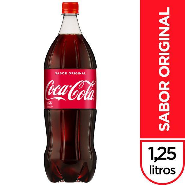 Oferta de Gaseosa Coca cola sabor original 1.25 l. por $108,7