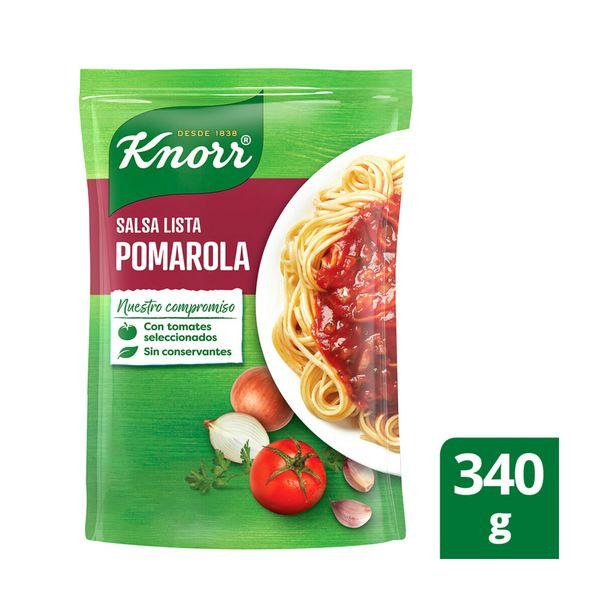 Oferta de Salsa lista pomarola Knorr 340 g por $87,6
