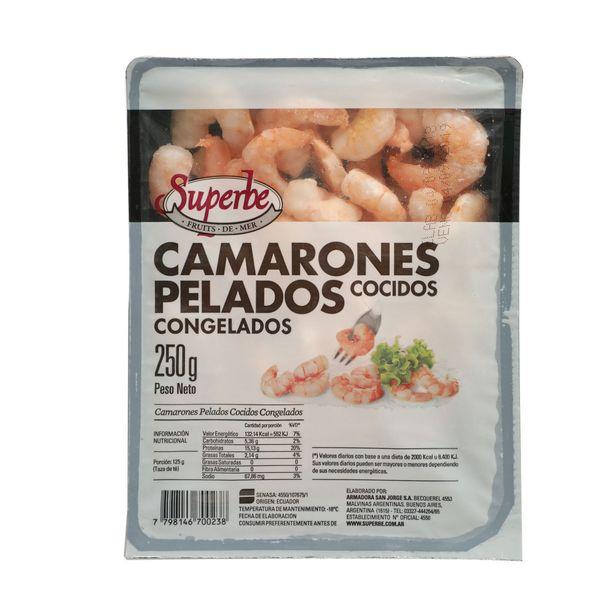 Oferta de Camarones pelados cocidos congelados 250 g. por $488