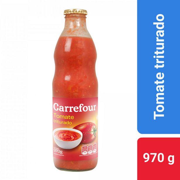Oferta de Tomate triturado Carrefour 970 cc. por $177,56
