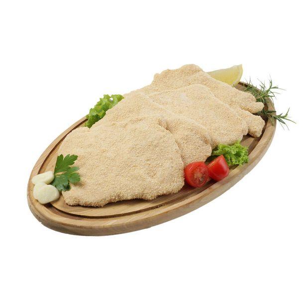 Oferta de Milanesa de pollo congelada x kg. por $424,8