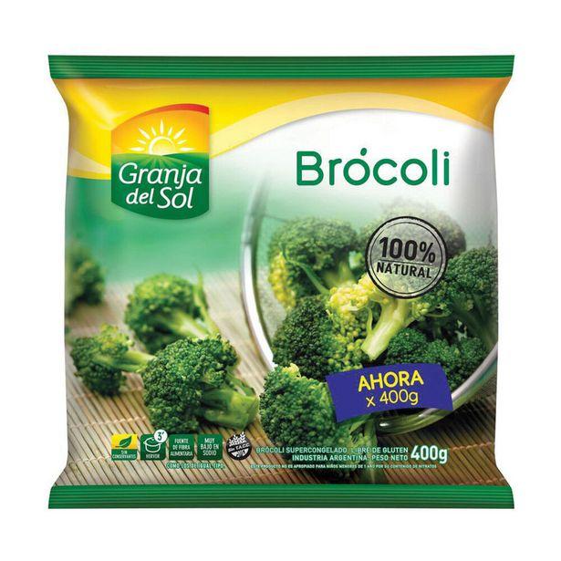 Oferta de Brócoli congelado Granja Del Sol 400 g. por $315,1